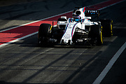 March 7-10, 2017: Circuit de Catalunya. Lance Stroll, Williams Martini Racing, FW40