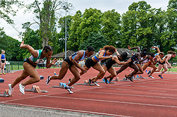 UKWAL Premier Division - BAL Division 1, Match 3 at Thames Valley Athletics Centre, Eton, , England on 06 July 2019.<br /> Photo by Simon Parker/SP Action Images