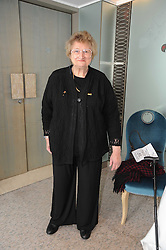 Actress BELLA EMBERG at the Lady Taverners Tribute Lunch in honour of Nicholas Parsons held at The Dorchester, Park Lane, London on 20th November 2009.