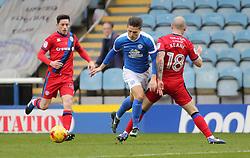 Tom Nichols of Peterborough United gets past Keith Keane of Rochdale - Mandatory by-line: Joe Dent/JMP - 25/02/2017 - FOOTBALL - ABAX Stadium - Peterborough, England - Peterborough United v Rochdale - Sky Bet League One