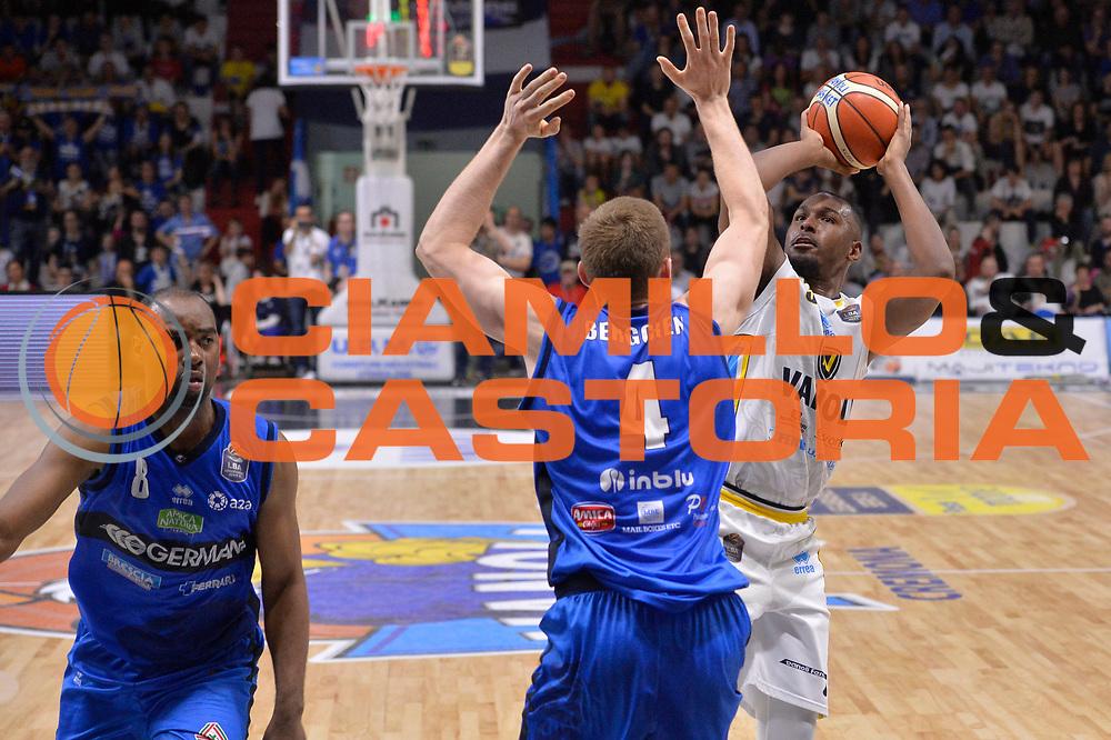 Elston Turner<br /> Vanoli Cremona - Germani Basket Brescia Leonessa<br /> Lega Basket Serie A 2016/2017<br /> Cremona, 09/04/2017<br /> Foto M.Ceretti / Ciamillo - Castoria