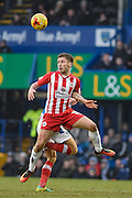 Accrington Stanley Forward, Shay McCartan (10) during the EFL Sky Bet League 2 match between Portsmouth and Accrington Stanley at Fratton Park, Portsmouth, England on 11 February 2017. Photo by Adam Rivers.