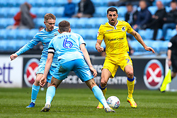 Liam Sercombe of Bristol Rovers takes on Liam Kelly of Coventry City - Mandatory by-line: Robbie Stephenson/JMP - 07/04/2019 - FOOTBALL - Ricoh Arena - Coventry, England - Coventry City v Bristol Rovers - Sky Bet League One