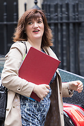 Downing Street, London, June 14th 2016. Education Secretary Nicky Morgan arrives at 10 Downing Street to attend the weekly cabinet meeting.