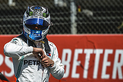May 11, 2019 - Barcelona, Catalonia, Spain - VALTTERI BOTTAS (FIN) from team Mercedes gets pole position in the qualifying session of the Spanish GP at Circuit de Catalunya (Credit Image: © Matthias Oesterle/ZUMA Wire)