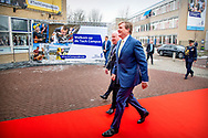 NIEUWEGEIN - King Willem-Alexander will open the Tech Campus of ROC Midden Nederland in Nieuwegein on Thursday morning, January 24th. The campus consists of four small-scale, sector-oriented MBO courses; the Tech College, the ICT College, the Automotive College and the Building & Interior College. robin utrecht