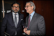 HANI FARSI; DAVID MONTGOMERY, Liberatum Cultural Honour for Francis Ford Coppola<br /> with Bulgari Hotel & Residences, London. 17 November 2014