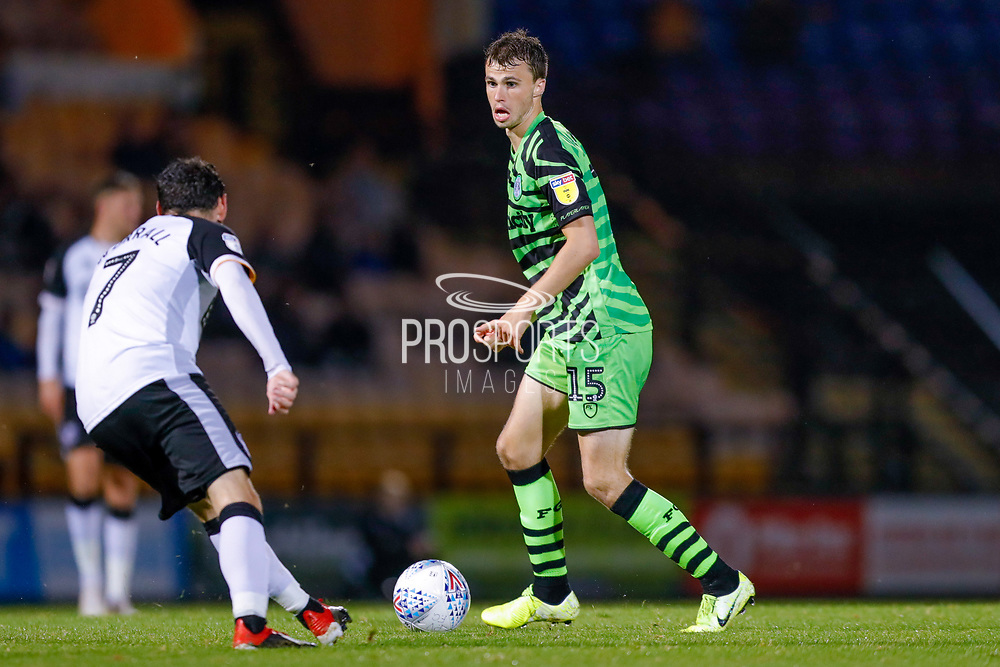 Forest Green Rovers James Morton(15) in action  during the EFL Sky Bet League 2 match between Port Vale and Forest Green Rovers at Vale Park, Burslem, England on 20 August 2019.