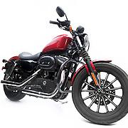 Studio shoot of Harley Davidson for Set Wet Deo promotion