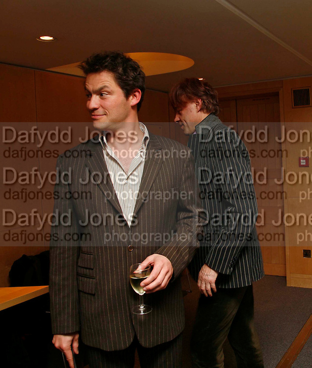 DOMINIC WEST,. After-drinks JOSEPHINE HART Poetry Hour. British Library. Euston Rd. London. 22 March 2006. ONE TIME USE ONLY - DO NOT ARCHIVE  © Copyright Photograph by Dafydd Jones 66 Stockwell Park Rd. London SW9 0DA Tel 020 7733 0108 www.dafjones.com