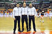 DESCRIZIONE : Udine Lega A2 2010-11 Snaidero Udine Prima Veroli<br /> GIOCATORE : Arbitri<br /> SQUADRA : Arbitri<br /> EVENTO : Campionato Lega A2 2010-2011<br /> GARA : Snaidero Udine Prima Veroli<br /> DATA : 30/01/2011<br /> CATEGORIA : Arbitri<br /> SPORT : Pallacanestro <br /> AUTORE : Agenzia Ciamillo-Castoria/S.Ferraro<br /> Galleria : Lega Basket A2 2010-2011 <br /> Fotonotizia : Udine Lega A2 2010-11 Snaidero Udine vs Prima Veroli<br /> Predefinita :