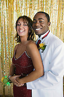Smiling Couple at Prom