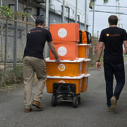 OCTOBER 6, 2017--MAYAGUEZ, PUERTO RICO ---<br /> Migrant Health Center  about to receive medical supplies from Direct Relief following the path of Hurricane Maria through Puerto Rico.<br /> (Photo by Angel Valentin/Freelance)