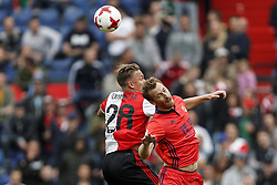 (L-R) Jens Toornstra of Feyenoord, David Zurutuza of Real Sociedad de Futbol during the pre-season friendly match between Feyenoord Rotterdam and Real Sociedad at the Kuip on July 29, 2017 in Rotterdam, The Netherlands
