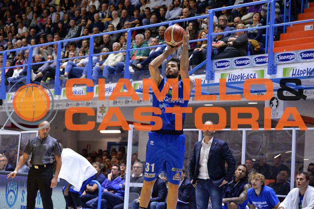 Vitali Michele<br /> Happycasa Brindisi - Germani Basket Brescia<br /> Legabasket serieA2017-2018<br /> Brindisi , 29/10/2017<br /> Foto Ciamillo-Castoria/M.Longo