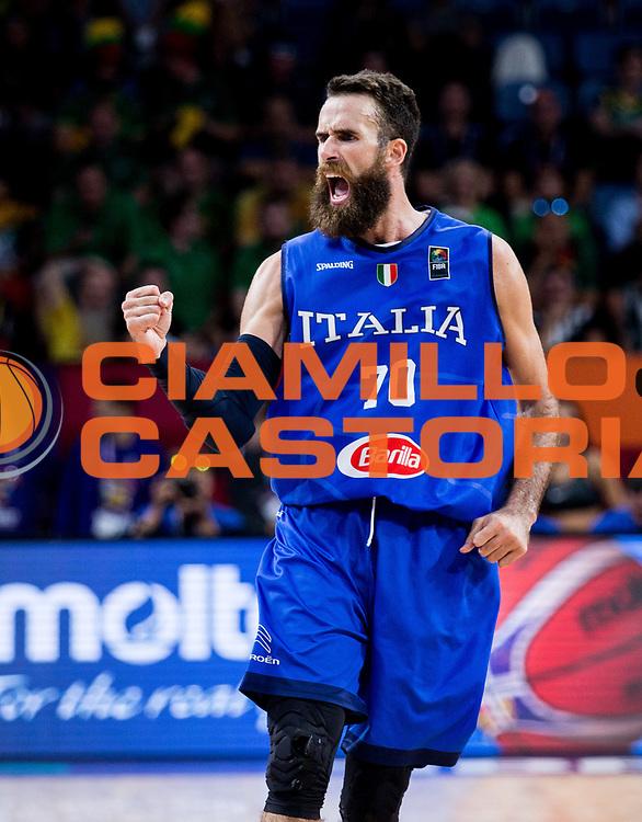 Luigi Datome<br /> Nazionale Italiana Maschile Senior<br /> Eurobasket 2017 - Final Phase - Round of 16<br /> Finlandia Italia Finland Italy<br /> FIP 2017<br /> Istanbul, 09/09/2017<br /> Foto GiulioCiamillo / Ciamillo - Castoria