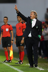 September 8, 2017 - Santa Maria Da Feira, Aveiro, Portugal - Sporting's Portuguese coach Jorge Jesus during the Premier League 2017/18 match between CD Feirense and Sporting CP, at Marcolino de Castro Stadium in Santa Maria da Feira on September 8, 2017. (Credit Image: © Dpi/NurPhoto via ZUMA Press)