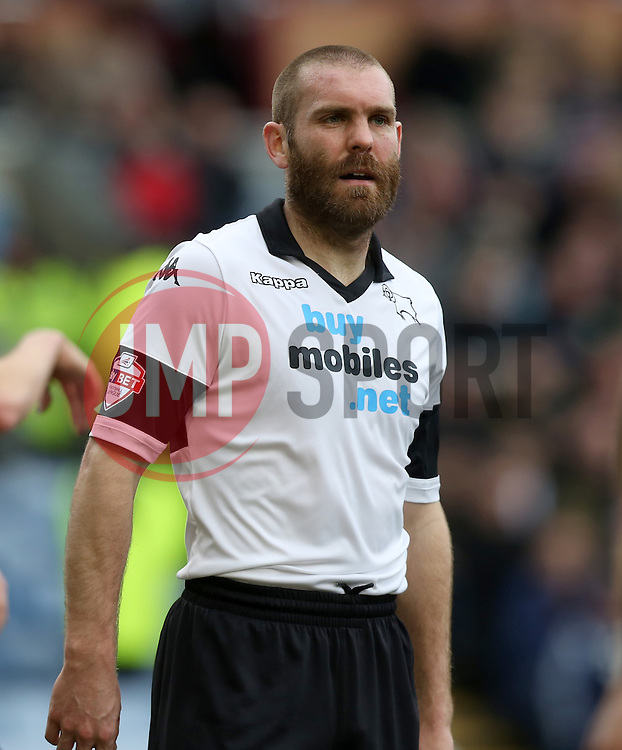 Derby County's Jake Buxton - Photo mandatory by-line: Matt Bunn/JMP - Tel: Mobile: 07966 386802 22/02/2014 - SPORT - FOOTBALL - Turf Moor Stadium- Burnley - Burnley  v Derby County- Sky Bet Championship