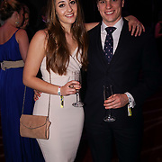 Westminster, UK. 20th Apr, 2017. Charlotte Spain and Jonathan Lloyd-Evans - redamancy wedding planning attends The annually National UK Blog Awards at Park Plaza Westminster Bridge, London. by See Li