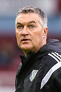 Rob Kelly, jointly in charge of West Bromwich Albion for the game against West Ham United, during the Barclays Premier League match at the Boleyn Ground, London<br /> Picture by David Horn/Focus Images Ltd +44 7545 970036<br /> 01/01/2015