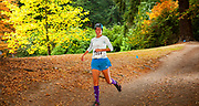 Tar n Trail Run 2018 in Mount Tabor Park, Portland, Oregon, USA.