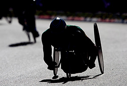 Athlete competes during Men's Individual H 4 Time Trial during Day 8 of the Summer Paralympic Games London 2012 on September 5, 2012, in Brands Hatch circuit near London, Great Britain. (Photo by Vid Ponikvar / Sportida.com)
