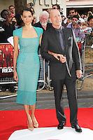 Emma Heming; Bruce Willis, Red 2 European Film Premiere, Empire cinema Leicester Square, London UK, 22 July 2013, (Photo by Richard Goldschmidt)
