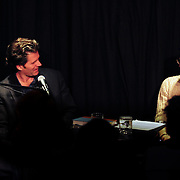 Margaret Talcot interviews Andre Dubus III at The Music Hall Loft, Portsmouth, NH