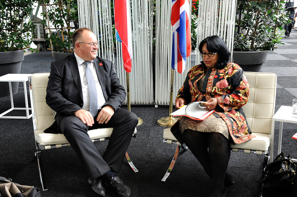 20150603- Brussels - Belgium - 03 June2015 - European Development Days - EDD  - Baroness Verma Uk and Schneider Luxembourg © EU/UE