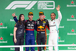 November 17, 2019, Sao Paulo, Sao Paulo, Brazil: Winners of the Formula One Grand Prix of Brazil 2019 at Interlagos circuit, in Sao Paulo, Brazil, on Sunday, November 17. (Credit Image: © Paulo Lopes/ZUMA Wire)