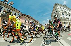 Marta Tagliaferro (ITA) of Ale Cipollini and Anja Rugelj (SLO) of BTC City Ljubljana during the Stage 1 (102,5 km) from Kamnik to Ljubljana at 26th Giro Rosa 2015 Women cycling race, on July 4, 2015 in Kamnik,  Slovenia. Photo by Vid Ponikvar / Sportida