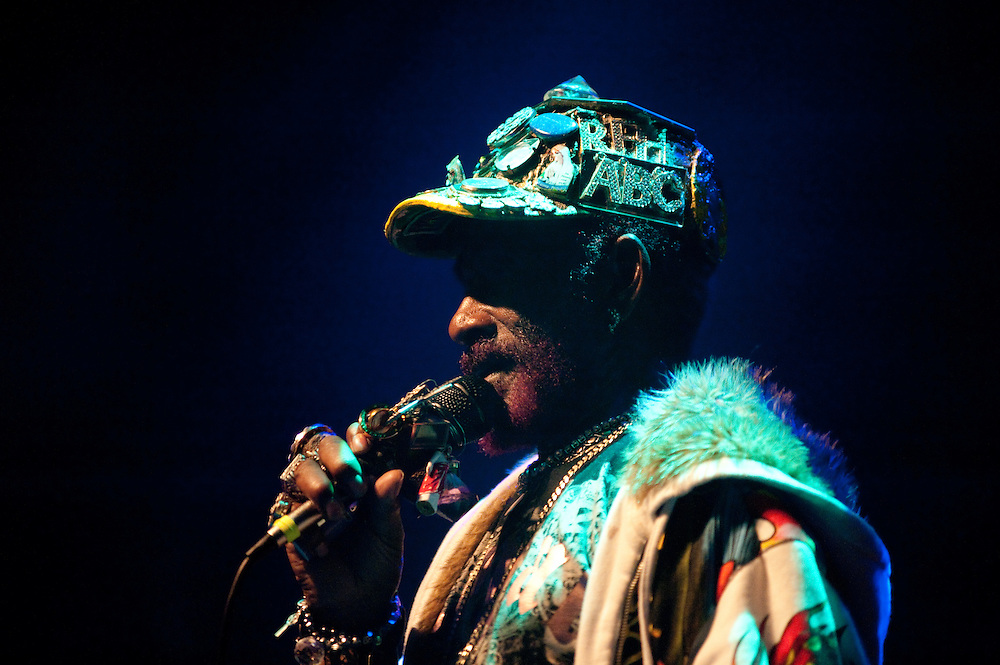 "Washington, DC - Lee ""Scratch"" Perry plays the 9:30 Club."