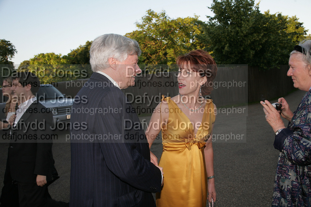 Kathy Lette, Launch of Tina Brown's book 'The Diana Chronicles' hosted by Reuters. Serpentine Gallery. 18 June 2007.  -DO NOT ARCHIVE-© Copyright Photograph by Dafydd Jones. 248 Clapham Rd. London SW9 0PZ. Tel 0207 820 0771. www.dafjones.com.