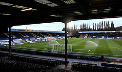 A general view of Gigg Lane, home of Bury - Mandatory by-line: Robbie Stephenson/JMP - 24/10/2016 - FOOTBALL - Gigg Lane - Bury, England - Bury v Bolton Wanderers - Sky Bet League One