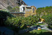 Rawla Narlai, 17th Century merchant's house now a luxury heritage hotel in Narlai, Rajasthan, Northern India