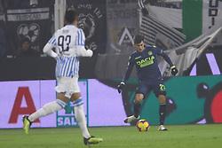 """Foto LaPresse/Filippo Rubin<br /> 26/12/2018 Ferrara (Italia)<br /> Sport Calcio<br /> Spal - Udinese - Campionato di calcio Serie A 2018/2019 - Stadio """"Paolo Mazza""""<br /> Nella foto: IGNACIO PUSSETTO (UDINESE)<br /> <br /> Photo LaPresse/Filippo Rubin<br /> December 26, 2018 Ferrara (Italy)<br /> Sport Soccer<br /> Spal vs Udinese - Italian Football Championship League A 2018/2019 - """"Paolo Mazza"""" Stadium <br /> In the pic: IGNACIO PUSSETTO (UDINESE)"""