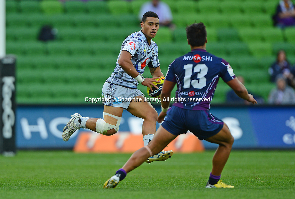 Holden Cup, Junior Warriors v Junior Storm. NYC / NZ<br /> NRL - New Zealand Warriors 2013<br /> National Rugby League / vs Melb Storm<br /> AAMI Park, Melbourne VIC<br /> Thursday 25 April 2013<br /> &copy; PHOTOSPORT