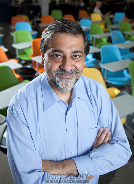 Vivek Wadhwa, VP of Innovation and Research Fellow Stanford Law School<br /> <br /> Photo by Jason Doiy