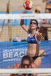 23-08-2019 NED; DELA NK Beach Volleyball Qualification, Scheveningen<br /> First day NK Beachvolleyball / Heike Faber