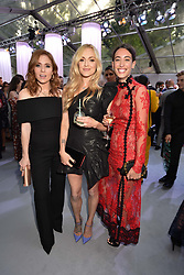 Left to right, Angela Scanlon, Fearne Cotton and Laura Jackson at the Glamour Women of The Year Awards 2017 in association with Next held in Berkeley Square Gardens, London England. 6 June 2017.