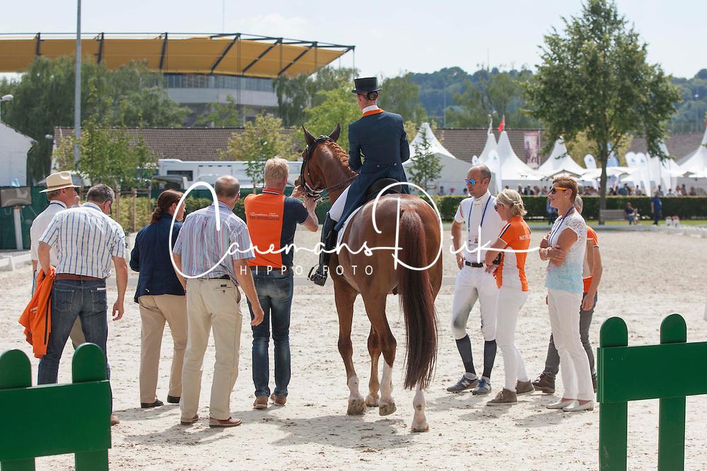 Cornelissen Adelinde (NED) - Jerich Parzival<br /> Preis der Familie Tesch <br /> Lambertz Nations Cup<br /> Weltfest des Pferdesports CHIO Aachen 2014<br /> &copy; Hippo Foto - Dirk Caremans