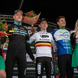 2019-10-13: Cycling: Superprestige: Gieten: Belgian Champion Aaron Dockx wins in Gieten, Silas Kuschla(GER) is second and Menno Huising (NED) third