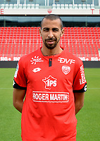 Fouad CHAFIK during photoshooting of Dijon FCO for new season 2017/2018 on September 11, 2017 in Dijon, France. (Photo by Vincent Poyer/Icon Sport)
