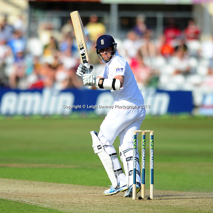 Graeme Swann scores an half century during England v Essex first day of a four day Ashes warm up game at the Essex County Cricket Ground, 30.06.13.  Credit: © Leigh Dawney Photography. Self Billing where applicable. Tel: 07812 790920