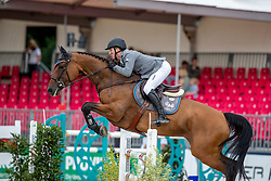 MCMAHON Eoi (IRL), Sansibar 89<br /> Münster - Turnier der Sieger 2019<br /> BRINKHOFF'S NO. 1 -  Preis<br /> CSI4* - Int. Jumping competition  (1.50 m) -<br /> 1. Qualifikation Grosse Tour <br /> Large Tour<br /> 02. August 2019<br /> © www.sportfotos-lafrentz.de/Stefan Lafrentz