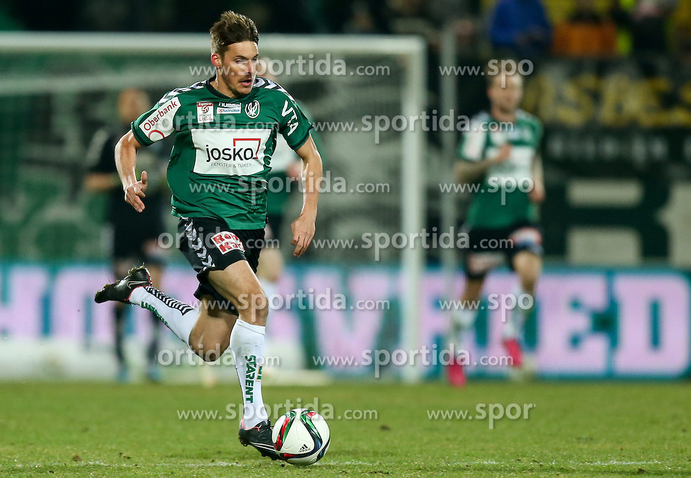 07.03.2015, Keine Sorgen Arena, Ried, AUT, 1. FBL, SV Josko Ried vs SV Scholz Grödig, 24. Runde, im Bild Clemens Walch, (SV Josko Ried) // during Austrian Football Bundesliga Match, 24nd round, between SV Josko Ried and SV Scholz Grödig at the Keine Sorgen Arena, Ried, Austria on 2015/03/07. EXPA Pictures © 2015, PhotoCredit: EXPA/ Roland Hackl