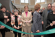 Baker Center Dedication..Ribbon Cutting..Mark Lucas,.Morgan Allen, Phyllis Bernt,  Dominic Barbato