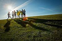 Coeur d'Alene High's cross country team.