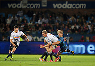 19/03/2011  SupeRugby. Bulls vs Stormers.Jaque Fourie, Jean de Villiers(C) and Wynand Olivier .Pic: Stringer