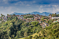 Salamina Cityscape Skyline  Caldas in Colombia South America
